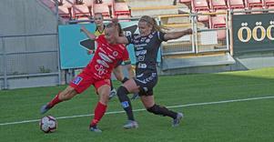 Frida Abrahamsson lämnade sin nackplats i slutet av matchen när Kif Örebro jagade kvittering, men utan resultat.