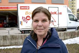 Terese Hallén, 46, processarbetare, Sundsvall: