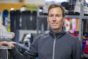 Mikael Svensson tror på en ljus framtid för begagnad sportutrustning.