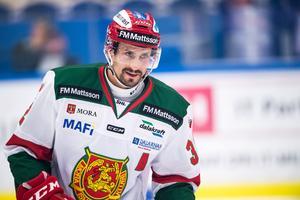 Daniel Grillfors ger upp spelarkarriären för att ställa sig i Mora IK:s bås som tränare. Foto: Magnus Lejhall/Bildbyrån