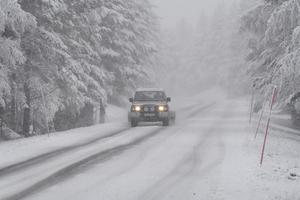 Vägen till Grövelsjön erbjuder nu vinterväglag.