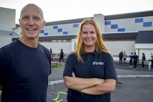 Tony Croon och Linda Wallberg från Föreningsalliansen.