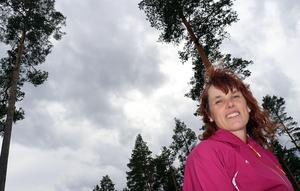 Gunilla Thornberg berättar om de övriga satsningar som ingår i investeringsplanerna för området vid Backetjärn.
