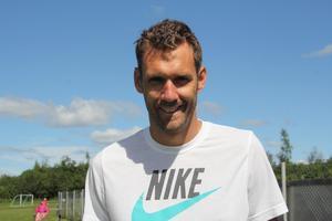 Fotbollsmålvakten Andreas Isaksson ligger på en 22 plats på listan för de som tjänar mest i Norberg. Foto: Arkiv