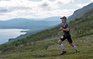 Andreas Svanebo, under en upplaga av Axa Fjällmaraton.Bild: Axa Fjällmaraton