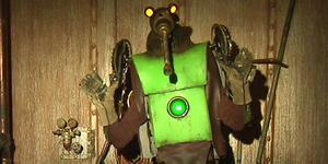 Taurus, en av karaktärerna från barnprogrammet Labyrint, kommer till Leksand i februari. (Bild: Sveriges television, Labyrint)