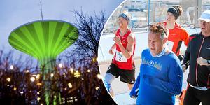 2017 anordnades ett maratonlopp på Svampen. Då segrade IF Götas André Rangelind när han tog sig in på under tre timmar (2.58.18). Foto: Veronika Ljung-Nielsen/Jonas Brännmyr