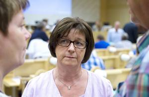 Landstingsrådet Elisabet Strömqvist (S).