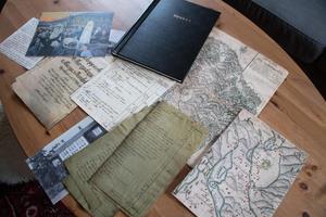 Historikern Christopher O´Reagan har plockat fram mängder av dokument om gården och dess invånare.