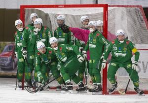 Hammarby hade en turbulent säsong men tog sig in med bra kraft i slutspelet där man slog ut Sandviken i kvartsfinalen.