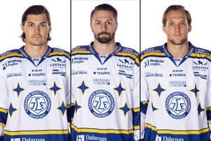 Thomas Valkvae-Olsen, Daniel Olsson Trkulja och Fredrik Forsberg. Foto: Pelle Börjesson/Bildbyrån