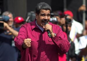Venezuelas president Nicolas MaduroFoto: AP/TT