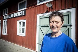 Karin Andersson ansvarar för djuren på Jamtli