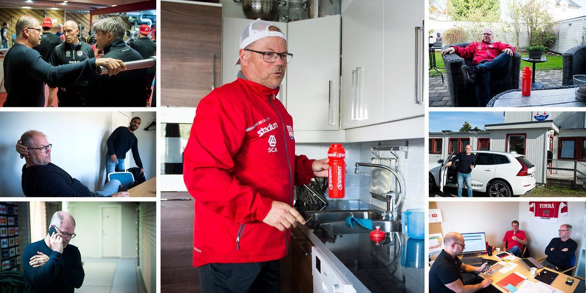 Unik inblick under en dag med Timrå IK:s sportchef – från morgonpromenad till toppmöte och agentsamtal: