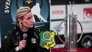 Johanna Pettersson siktar mot SM-pokalen.