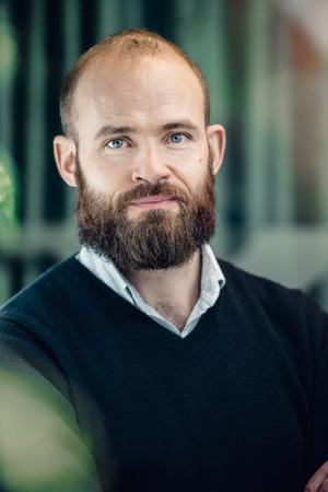 Joakim Larsson, Googles kommunikationschef i Sverige och Finland. Foto: Alexander Donka