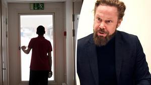 Mats Gidlund, avdelningschef för socialt stöd på Örnsköldsviks kommun, ser allvarligt på att tre tidigare anställda vid kommunens HVB-boenden inledde nära relationer med tre ensamkommmande flyktingpojkar under 18 år .