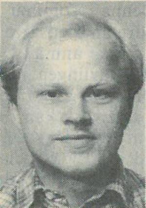 Stig Henriksson, då 27 år gammal och nybliven politiker i kommunfullmäktige. Han kom att bli en framgångsrik vänsterpolitiker som gick hem i stugorna. Valet 1998 kryssades han av 1 949 Fagerstabor. Foto: Arkiv