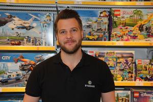 Patrik Ek är butiksägare på Byggdags.