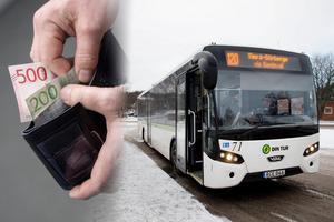 Enklare biljettsystem ska ge ökat bussåkande, mer pengar i plånboken och bättre miljö, menar Liberalerna i Timrå. Bild: Fredrik Sandberg/TT/Mårten Englin