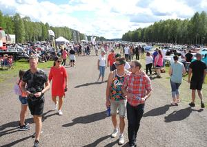 Varje år lockar motorveckan i Älvdalen mellan 20 000 - 30 000 besökare.