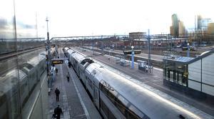 Att gräva ned järnvägsspåren i Västerås kostar 10-12 miljarder  visar beräkningar.