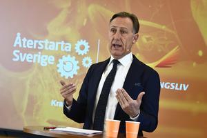 Svenskt Näringsliv presenterade i veckan ett första jobbpaket med fem tydliga punkter, skriver Jan-Olof Jacke (bilden) och Anna Gillek. Foto: Claudio Bresciani / TT.