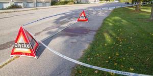Dagen efter händelsen syntes blod på trottoaren och större delen av parken var avspärrad.