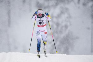 Settlin från förra helgens tävlingar i Ruka. Bild: Anders Wiklund/TT