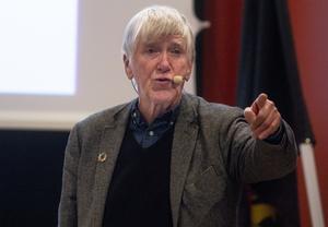 I sin föreläsning lyfte Hans Abrahamsson framförallt om behovet av att inkludera alla som bor i Sverige i det politiska samtalet. Han menar att utanförskap, inte minst socialt, leder till en frustration som är skadlig för samhället. Därför anser han att den representativa demokratin måste kompletteras med till exempel kommunala rådslag där alla får komma till tals.