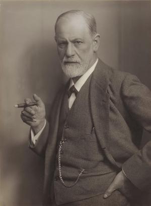Sigmund Freud 1921. Foto: Max Halberstadt