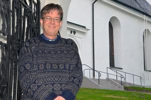 Björn Wiksten är ny kyrkoherde i Hudiksvallsbygden.