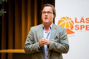 Olle Lundén, tävlingsansvarig på basketförbundet. Foto: Bildbyrån.