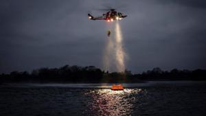 Sjöfartsverket har sju räddningshelikoptrar av typen AW 139. Foto: Patrik Nilsson/Sjöfartsverket