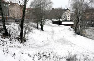 Området ligger mellan Selångersån och Storgatan.