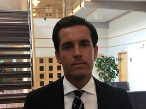 Carl-Oskar Morgården, den misstänkte mannens advokat.