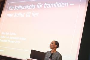 Kultur- och demokratiminister Alice Bah Kuhnke.Foto: Fredrik Sandberg/TT