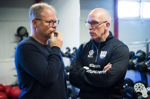 Kent Norberg, sportchef, och Fredrik Andersson, huvudtränare.