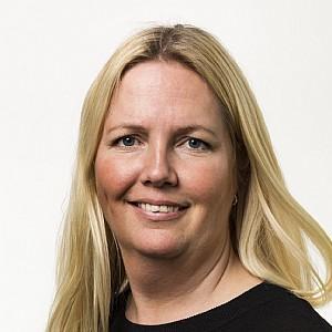 Sofie Blom Bergström är en av få kvinnliga vd:s bland länets 50 största företag. Foto: Person Invest