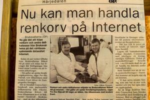 Bröderna var först på internet och fick ett stort genomslag i media. Per-Åke Näsvall blev inbjuden att hålla seminarier om