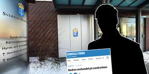 En rättegång mot en man som misstänks för koppleri har kunnat genomföras vid tingsrätten i Sundsvall först närmare fem år efter att han greps.