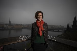 Framgångssagan som aldrig blev, tidigare M-ledaren Anna Kinberg Batra. Foto: Staffan Löwstedt / SvD / TT