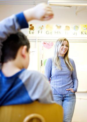 Madeleine Högman är speciallärare och it-ansvarig på Murgårdsskolan i Sandviken.