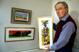 Stänger. Efter snart 40 år slutar Anders Zetterman som gallerist i Odensbacken.BILD: SVEN-ERIC ARDHAGE