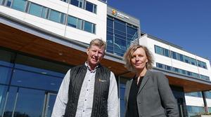 Kenneth Johansson och Jenny Brusk, Science Park Skövde.