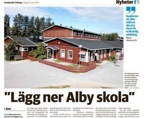 Sundsvalls Tidning 15 mars.
