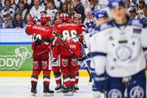 Mora svarade upp till 1–1 via Mathias Bromé. Foto: Daniel Eriksson / BILDBYRÅN