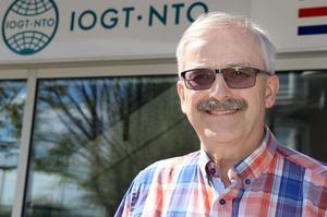 Kjell Svedman är mycket glad över det integrationsarbete som IOGT-NTO Ånge lyckats få till.