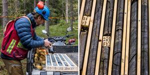 Sedan april har företaget Eurasian Minerals Sweden AB provborrat efter mineraler i Riddarhyttan. De tror de finns en chans att hitta framför allt koppar i området.