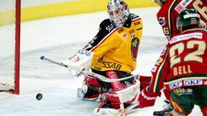 Foto: Adam Ihse/TT – Johan Gustafsson under tiden i Luleå.
